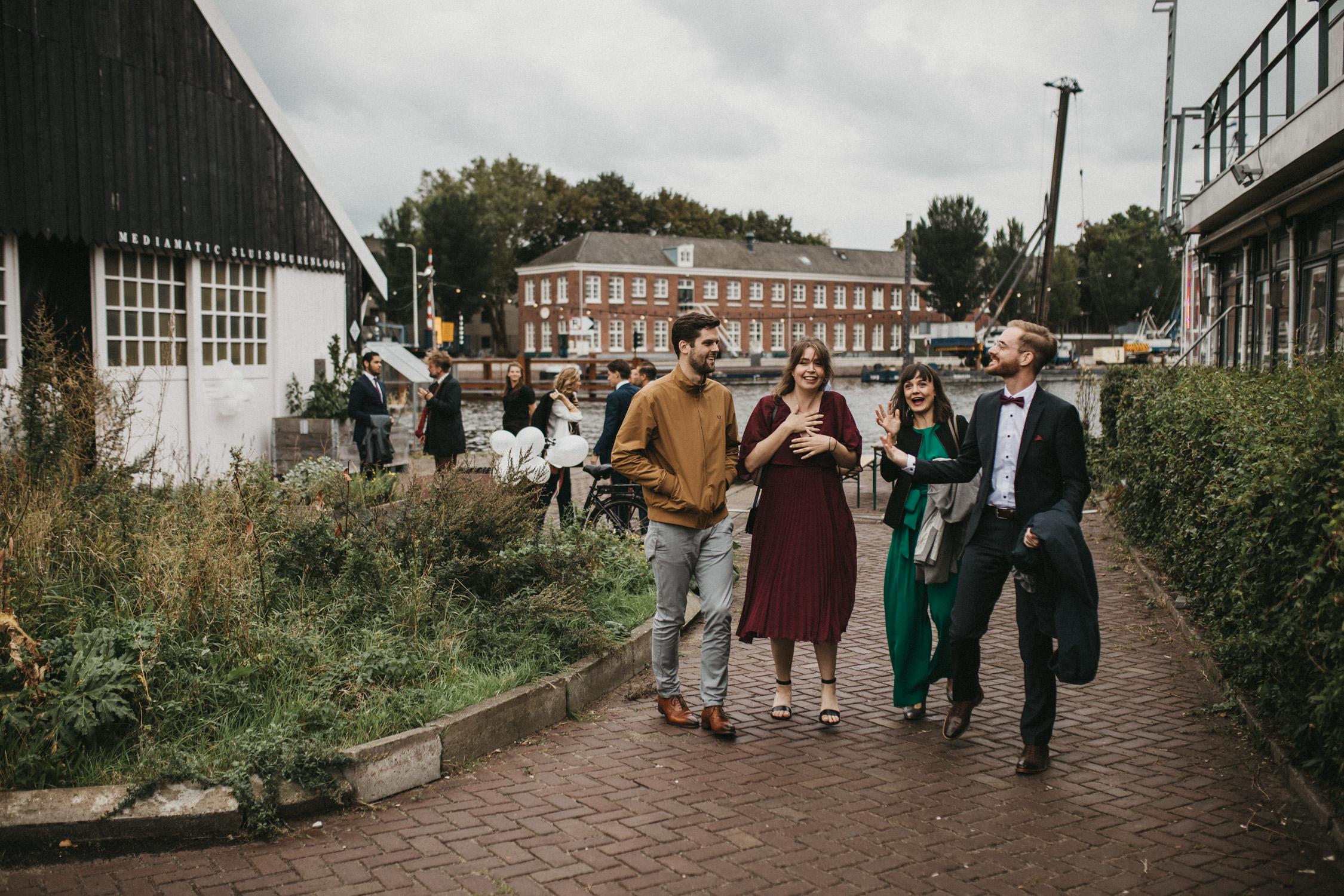 Mediamatic bruiloft